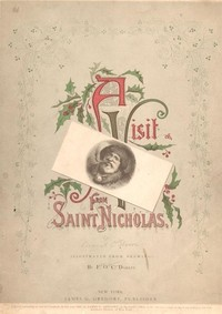Cover of the book A Visit From Saint Nicholas by Clement Clarke Moore