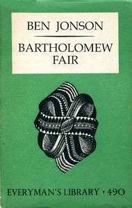 Cover of the book Bartholomew fair by Ben Jonson