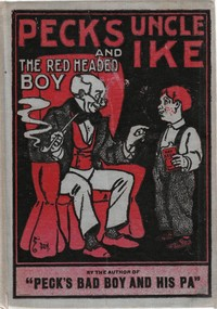 Cover of the book Peck's Uncle Ike and the red headed boy, also Sunbeams by George W. (George Wilbur) Peck