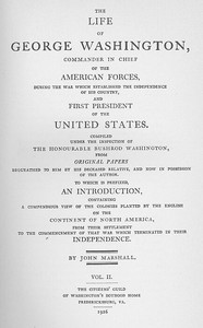 Cover of the book The Life of George Washington, Vol. 2 (of 5) Commander in Chief of the American Forces During the War which Established the Independence of his by John Marshall