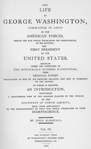 Cover of the book The Life of George Washington, Vol. 3 (of 5) Commander in Chief of the American Forces During the War which Established the Independence of his by John Marshall