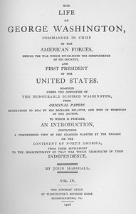 Cover of the book The Life of George Washington, Vol. 4 (of 5) Commander in Chief of the American Forces During the War which Established the Independence of his by John Marshall