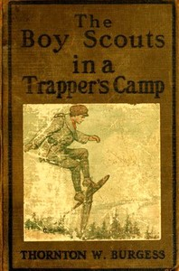 Cover of the book The boy scouts in a trapper's camp by Thornton W. (Thornton Waldo) Burgess
