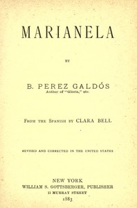 Cover of the book Marianela by Benito Pérez Galdós