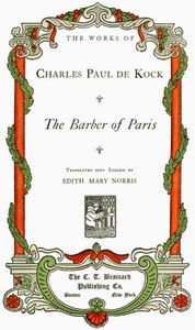 Cover of the book The barber of Paris by Paul de Kock