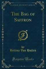 Cover of the book The bag of saffron by Bettina Von Hutten