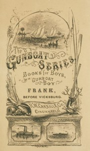 Cover of the book Frank before Vicksburg by Harry Castlemon