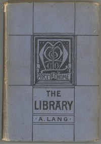 Cover of the book The Library by Andrew Lang