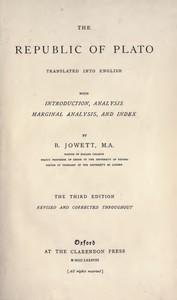 Cover of the book The republic of Plato by Plato