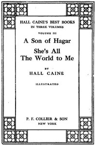 Cover of the book She's all the world to me by Hall Caine