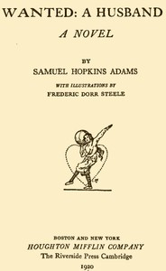 Cover of the book Wanted: a husband, a novel by Samuel Hopkins Adams