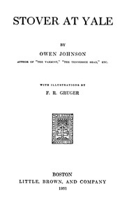 Cover of the book Stover at Yale by Owen Johnson