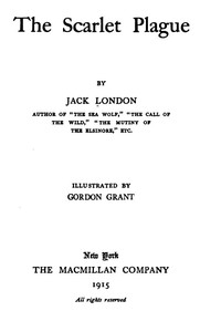 Cover of the book The scarlet plague by Jack London