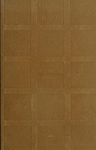 Cover of the book Pieces of hate and other enthusiasms by Heywood Broun