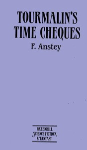 Cover of the book Tourmalin's time cheques by F. Anstey