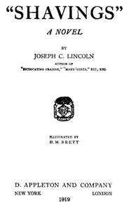 Cover of the book Shavings by Joseph Crosby Lincoln