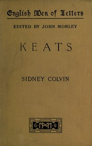 Cover of the book Keats by Sidney Colvin