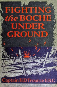 Cover of the book Fighting the Boche underground by Harry Davis Trounce