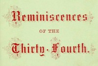 Cover of the book Reminiscences of the Thirty-fourth Regiment, Mass. Vol. Infantry by William H. Clark