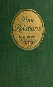 Cover of the book Poor relations by Compton MacKenzie