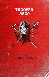 Cover of the book Trooper 3809, a private soldier of the third republic by Lionel Decle