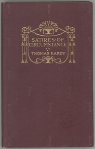 Cover of the book Satires of Circumstance, lyrics and reveries with miscellaneous pieces by Thomas Hardy