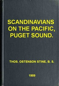 Cover of the book Scandinavians on the Pacific, Puget Sound by Thomas Ostenson Stine