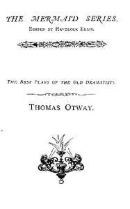 Cover of the book The works of Mr. Thomas Otway, in two volumes (Volume 1) by Thomas Otway
