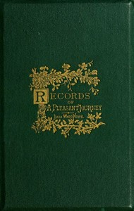 Cover of the book From the oak to the olive : a plain record of a pleasant journey by Julia Ward Howe