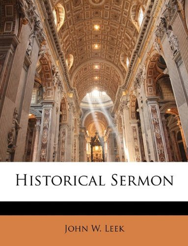 cover for book Historical sermon