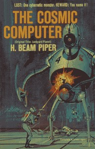Cover of the book The Cosmic Computer by H. Beam Piper