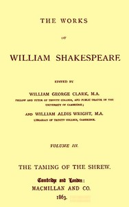 Cover of the book The Works of William Shakespeare [Cambridge Edition] [9 vols.] by William Shakespeare