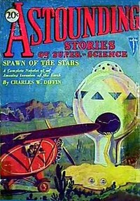 Cover of the book Astounding Stories of Super-Science February 1930 by Various