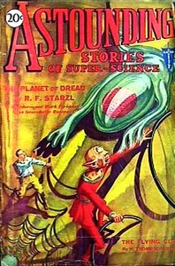 Cover of the book Astounding Stories of Super-Science, August 1930 by Various
