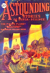 Cover of the book Astounding Stories of Super-Science, November, 1930 by Various