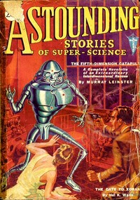 Cover of the book Astounding Stories of Super-Science January 1931 by Various