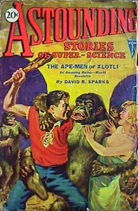 Cover of the book Astounding Stories of Super-Science, December 1930 by Various