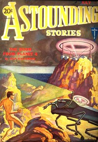 Cover of the book Astounding Stories, July, 1931 by Various
