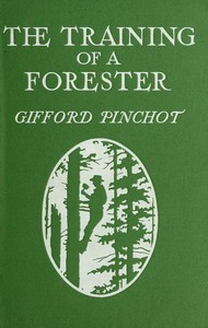 cover for book The Training of a Forester