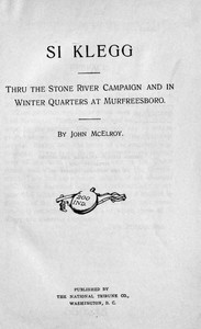 Cover of the book Si Klegg, Book 2 by John McElroy