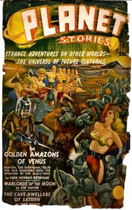 Cover of the book The Golden Amazons of Venus by John Murray Reynolds