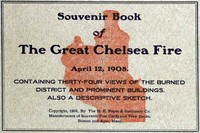 Cover of the book Souvenir Book of the Great Chelsea Fire April 12, 1908 by Anonymous