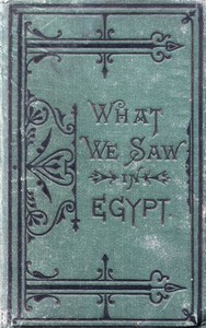 Cover of the book What We Saw in Egypt by Anonymous