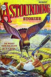 Cover of the book Astounding Stories,  August, 1931 by Various