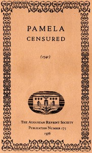 Cover of the book Pamela Censured by Anonymous