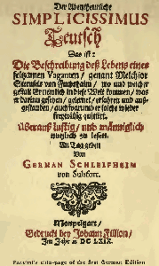 Cover of the book The Adventurous Simplicissimus by Hans Jacob Christoph von Grimmelshausen