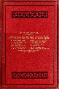 Cover of the book A Book Written by the Spirits of the So-Called Dead by C. G. (Carl Gustaf) Helleberg