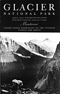 Cover of the book Glacier National Park [Montana] by United States. Department of the Interior