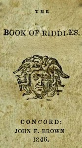 Cover of the book The Book of Riddles by Anonymous