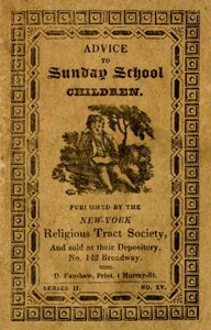 Cover of the book Advice to Sunday School Children by Anonymous
